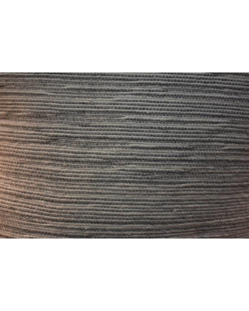 "Moroccan Pillow-Euro (26"" x 26"") - Gray Candy Stripe"