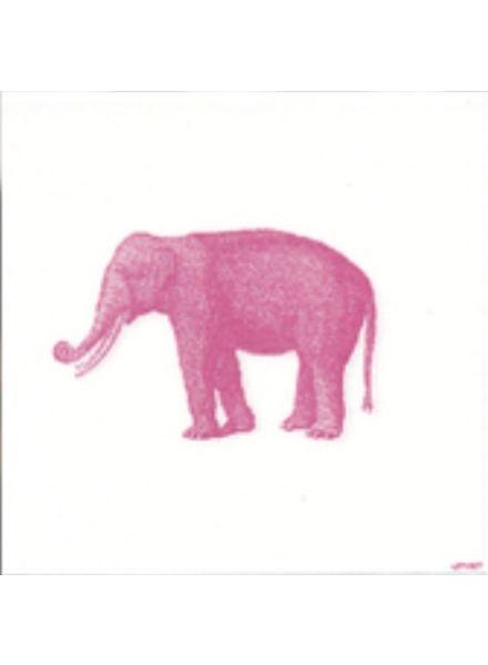 Elephant Paper Dinner Napkin (40cm)