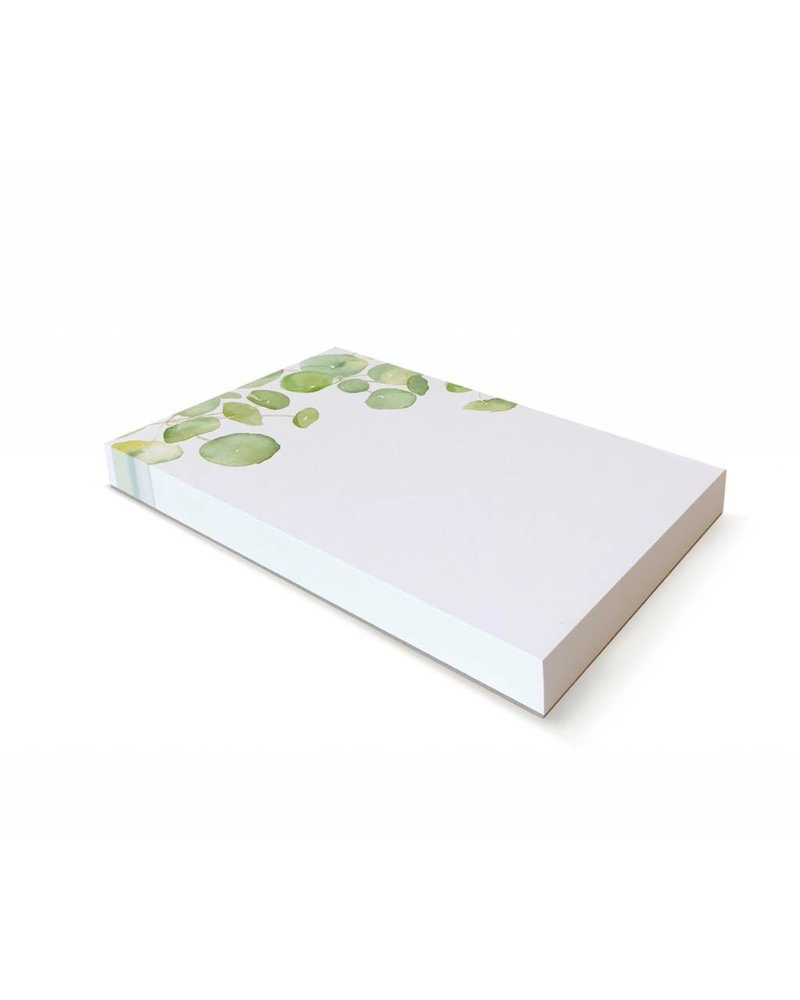 Spring Leaves Notepad