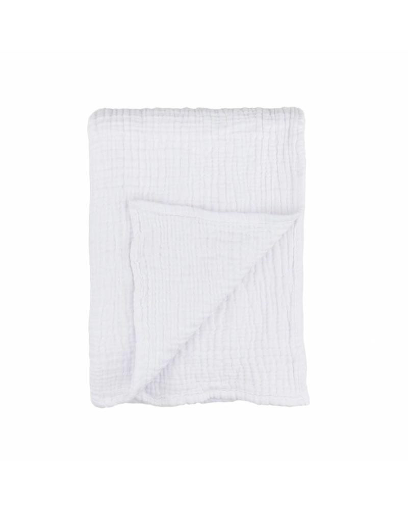 Kids Cocoon Baby Blanket (White)