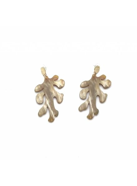 Calypso Coral Earrings (Large)