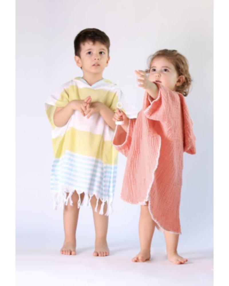 Kids Cocoon Poncho 18/24 (Papaya)