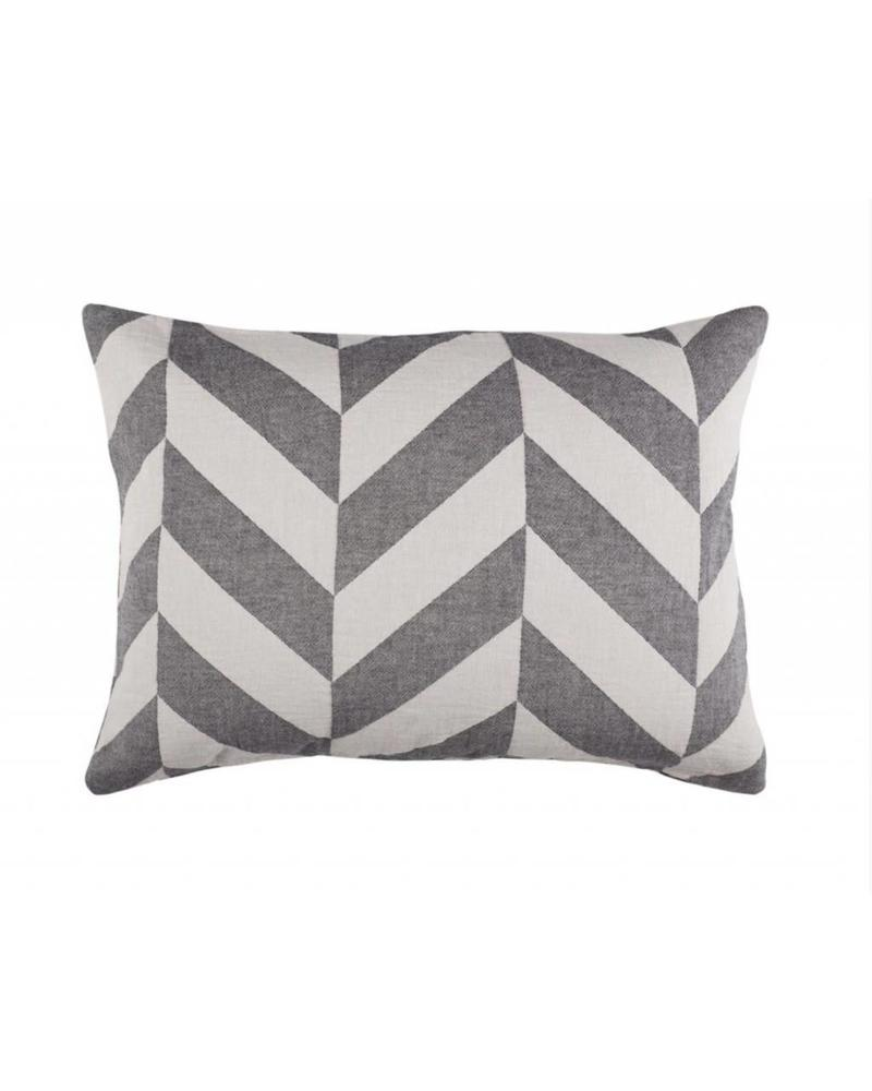 Fishbone Pillow Case (Black)
