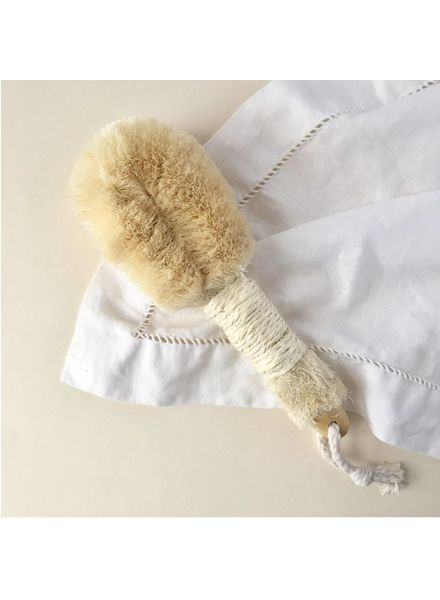 Dry Sisal Scrub Brush