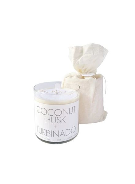 Coconut and Turbinad Candle (22 oz)
