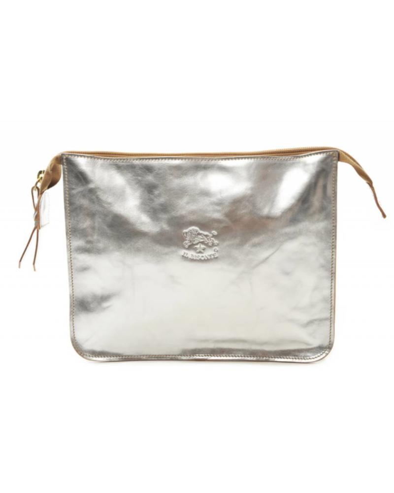 Calf Beauty Case (A0024.PE)-Silver