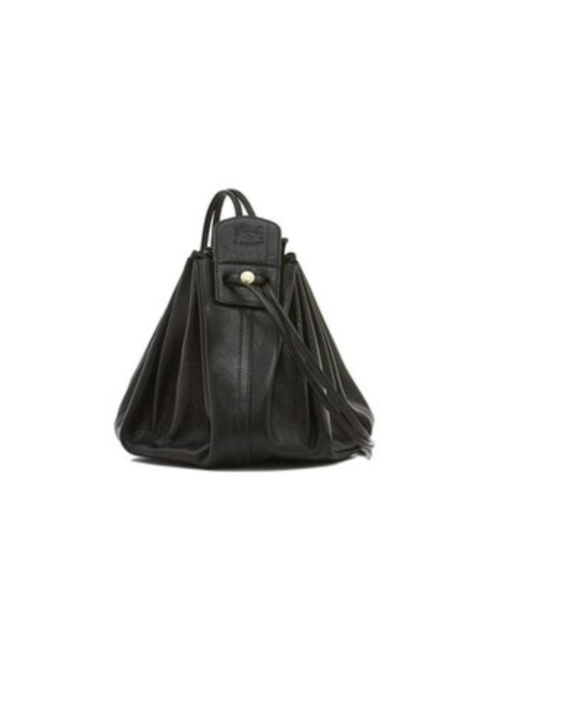Cowhide CrossBody Bag- Black (A0049.P153)