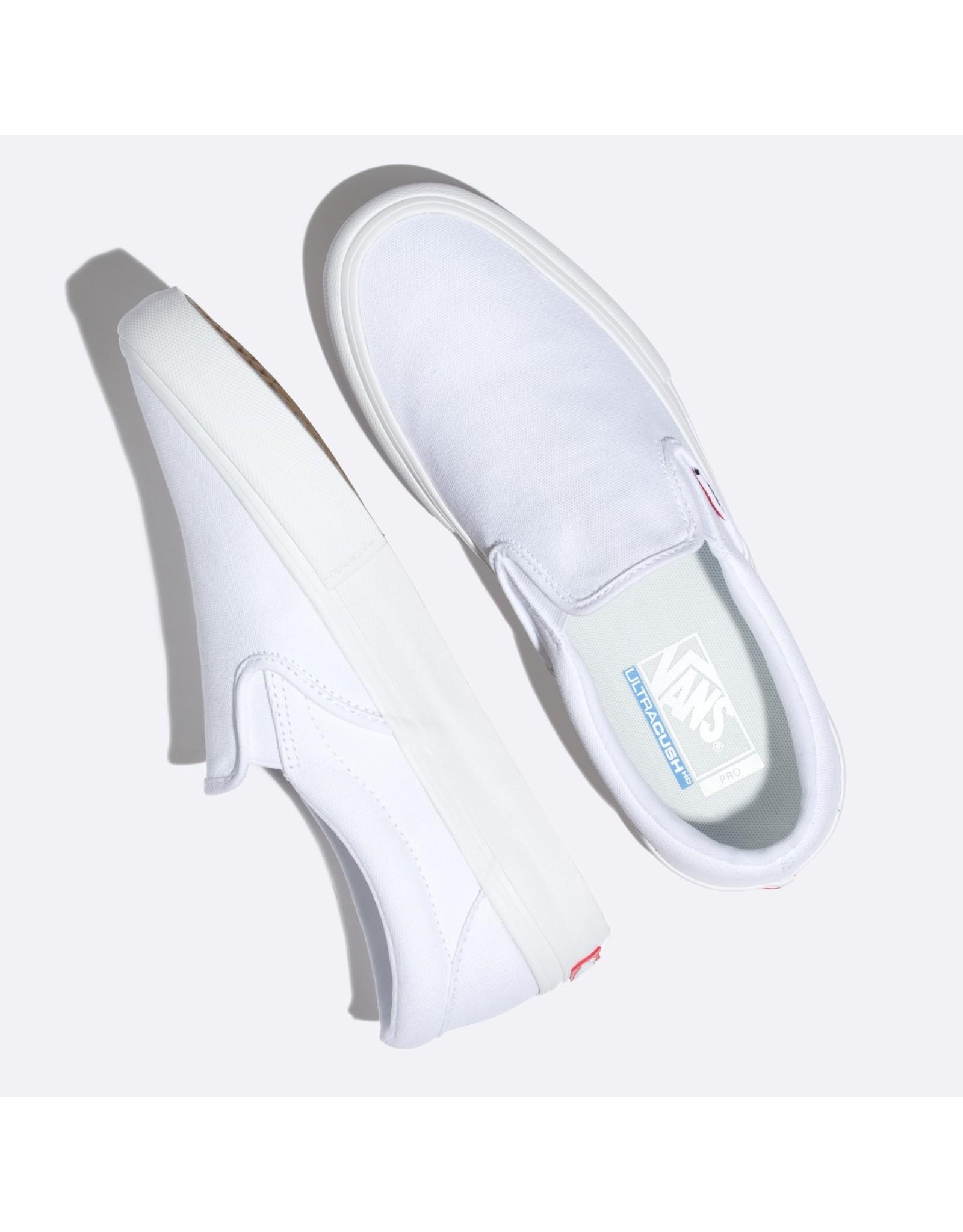 VANS VANS - SLIP-ON PRO - WHITE -