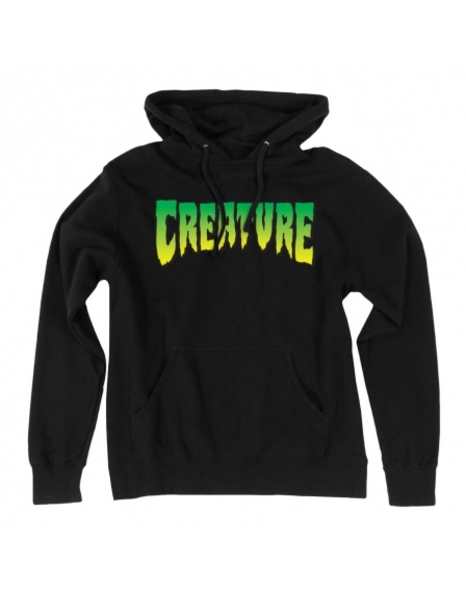 CREATURE CREATURE - LOGO HOODY BLACK