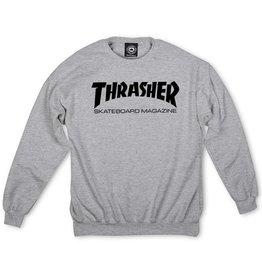 THRASHER THRASHER - SKATE MAG CREW - GREY