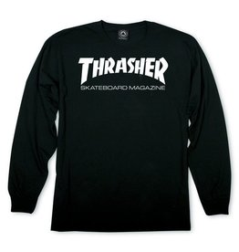 THRASHER THRASHER - SKATE MAG L/S - BLK