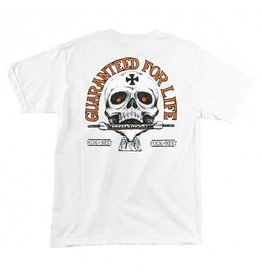 INDEPENDENT INDEPENDENT - GUARANTEED FOR LIFE TEE - WHT -