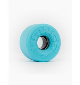 HAWGS WHEELS HAWGS WHEELS - EASY HAWGS - BLUE STONE - 63MM