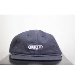 BOARDERLINE - OG UNSTRUCTURED HAT (NAVY)