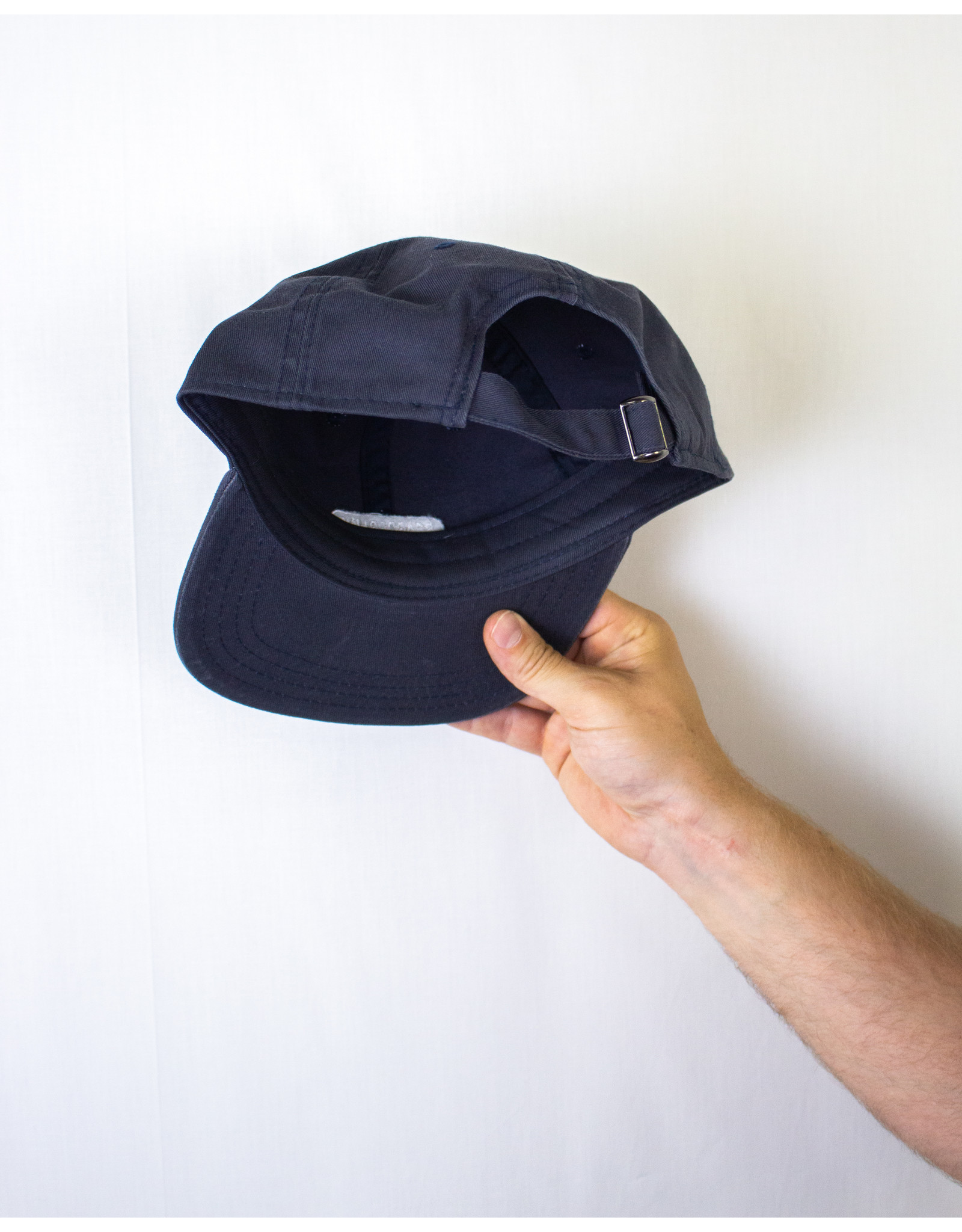 BOARDERLINE - OG UNSTRUCTURED HAT (NAVY)