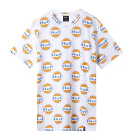 HUF HUF - IGNITE ALL OVER S/S - WHT -