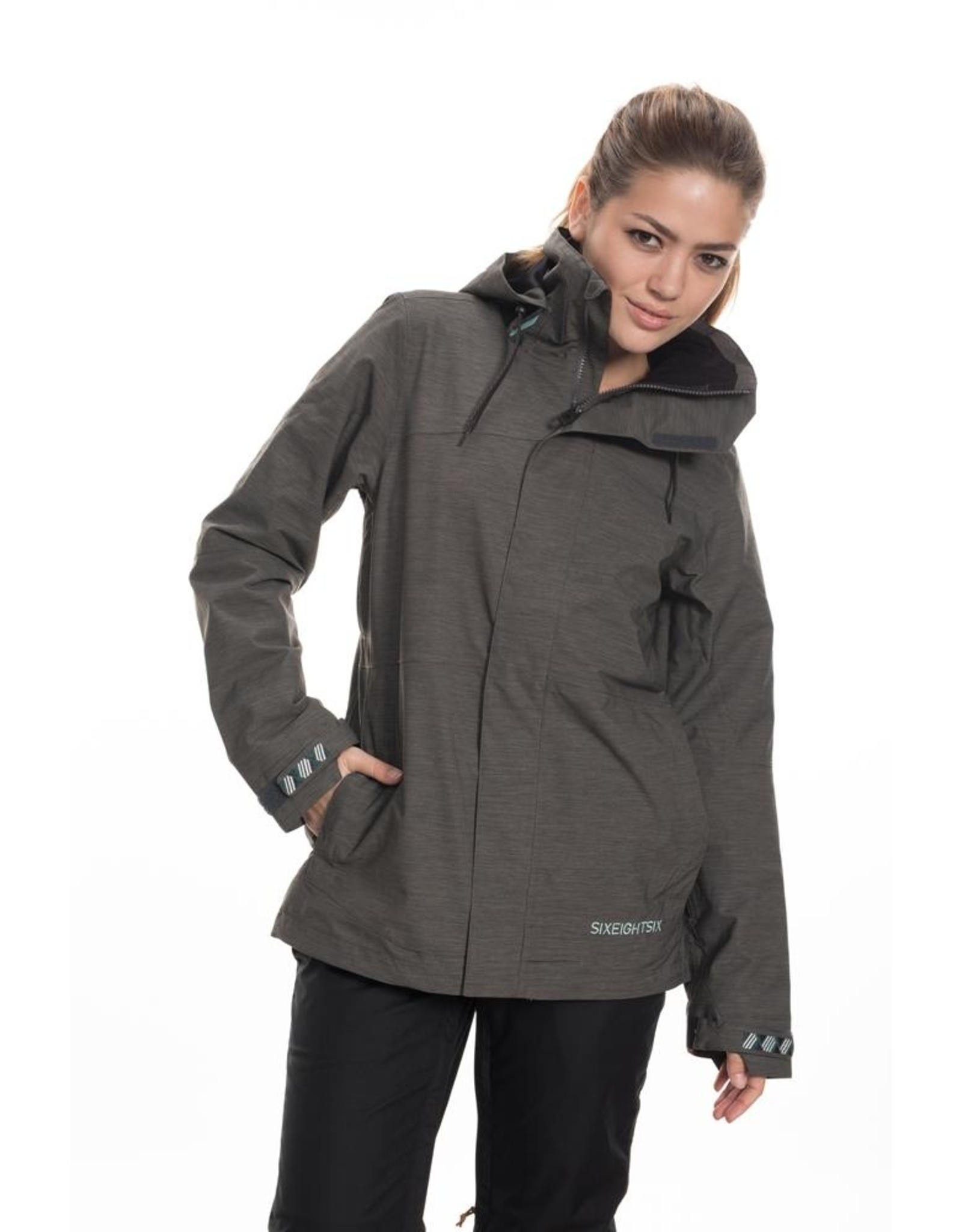 686 686 - SMARTY SPELLBOUND JACKET - 19/20 - CHARCOAL HEATHER