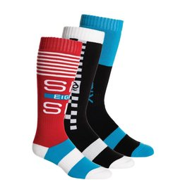 686 686 - KNOCKOUT SOCK - 3-PCK - RAD PACK