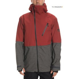 686 686 - GLCR HYDRA THERMAGRAPH JKT - RSTY RED -