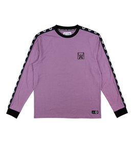 WELCOME WELCOME - CHALICE TAPED L/S - GRAPE/BLK -