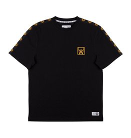WELCOME WELCOME - CHALICE TAPED TEE - BLK/GLD -