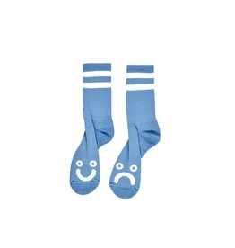 POLAR POLAR - HAPPY / SAD SOCK - BLU