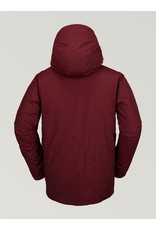 VOLCOM VOLCOM - L INSULATED GORE-TEX JACKET - BURNT RED - 19/20 -