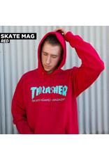 THRASHER THRASHER - SKATE MAG HOODIE - RED -