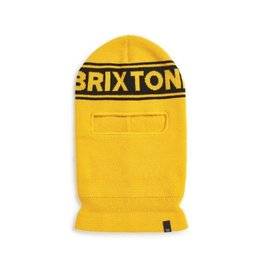 BRIXTON BRIXTON - SPROCKET FACE MASK - YLW/BLK