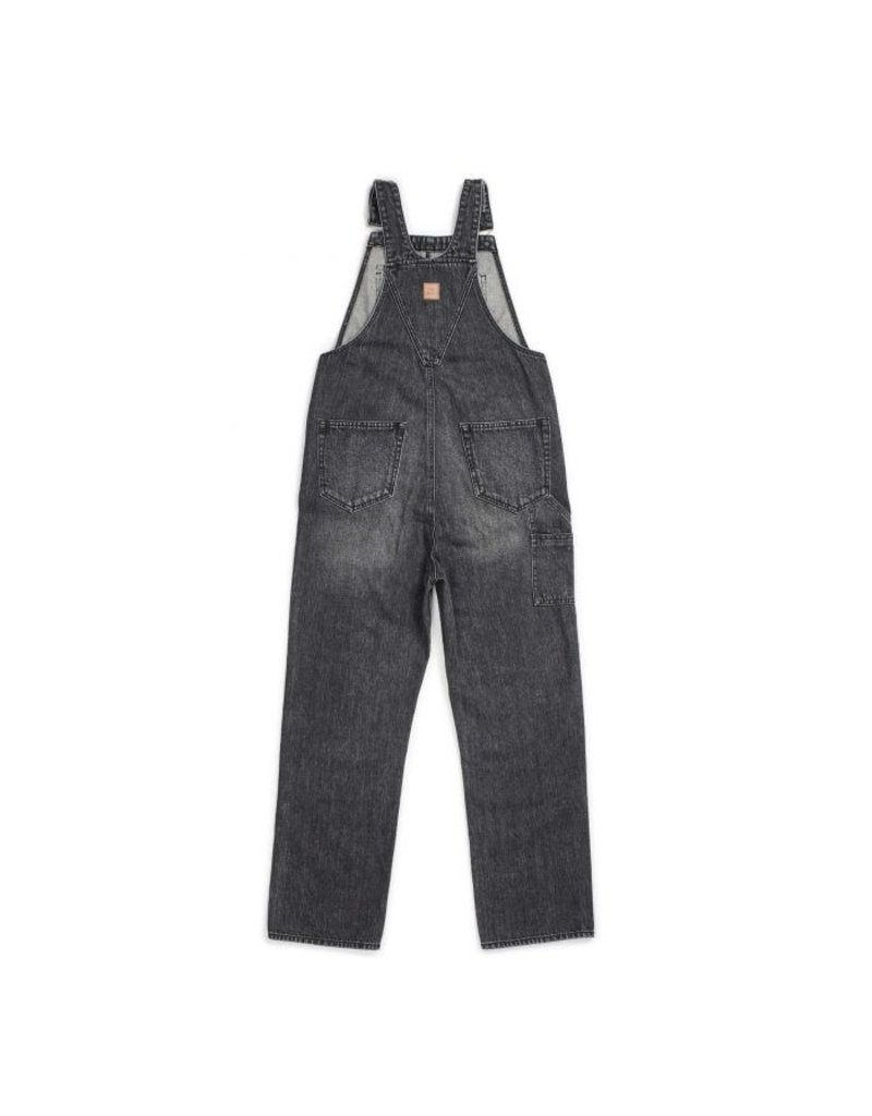 BRIXTON BRIXTON - UNION OVERALL - WORN BLACK -