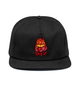917 917 - DICE HAT - BLK