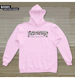 THRASHER THRASHER - ROSES HOODIE - PINK -