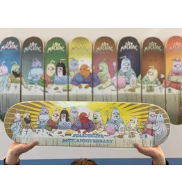 TOY MACHINE TOY MACHINE - 30TH ANNIVERSARY SHOP DECK - 8.5