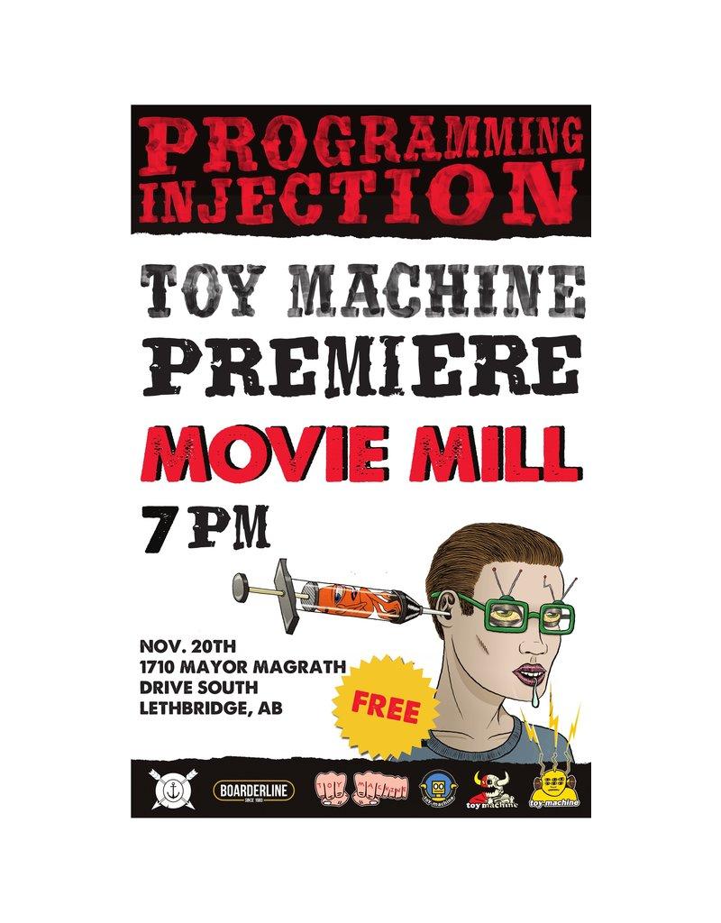 TOY MACHINE TOY MACHINE - PROGRAMMING INJECTION DVD