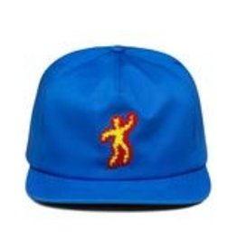 917 917 - SCORCHED HAT - BLUE