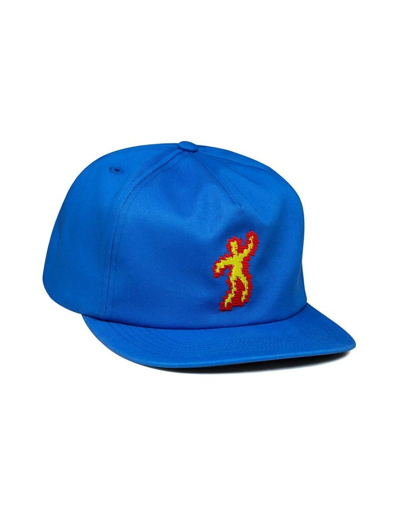 917 917 - SCORCHED HAT - BLUE