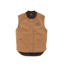 LOSER MACHINE LOSER MACHINE - CONDOR VEST - CARAMEL -