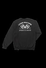 LOSER MACHINE LOSER MACHINE - DAYTONA WICKING CREW - BLK -