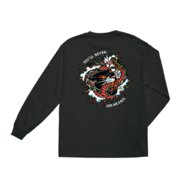 LOSER MACHINE LOSER MACHINE - NEVER FAIL STOCK L/S - BLK -