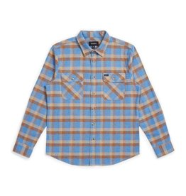 BRIXTON BRIXTON - BOWERY FLANNEL - RIVER BLUE -