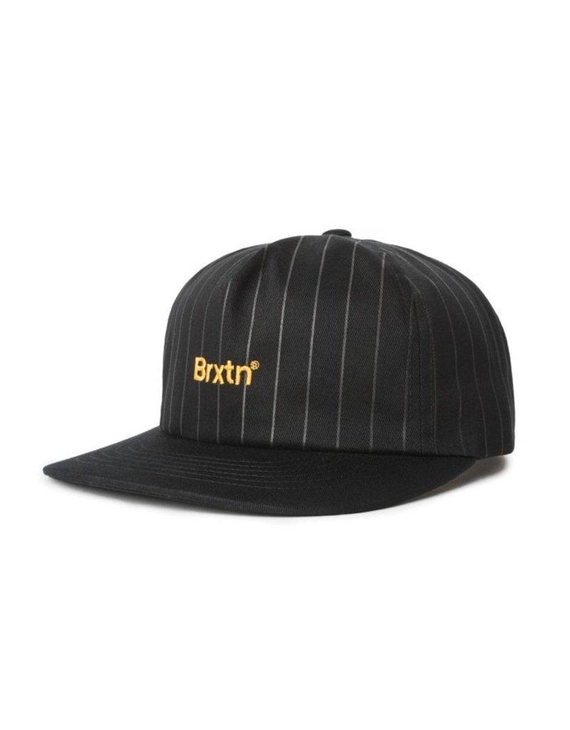 BRIXTON BRIXTON - GATE LP CAP - BLACK