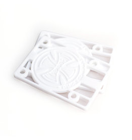 INDEPENDENT INDEPENDENT - 1 1/8 RISERS - WHITE