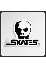 "SKULL SKATES SKULL SKATES - LOGO PATCH (7.5"")"