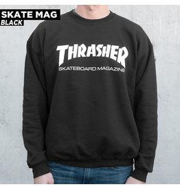 THRASHER THRASHER - SKATE MAG CREW - BLK -