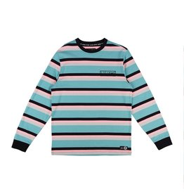WELCOME WELCOME - MEDIUS STRIPE KNIT - TEAL -