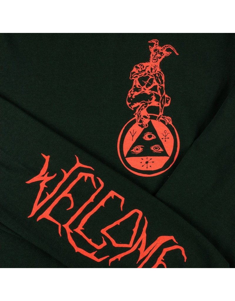 WELCOME WELCOME - GOATMAN LONGLSEEVE - FOREST -