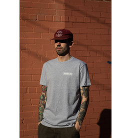 BOARDERLINE - OG POCKET LOGO - GREY