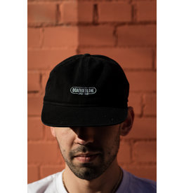 BOARDERLINE - OG UNSTRUCTURED HAT (BLACK)