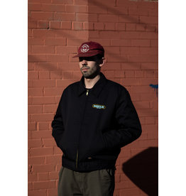 BOARDERLINE - DICKIES LOGO JCKT - BLK -