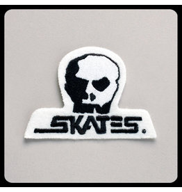 "SKULL SKATES SKULL SKATES - LOGO PATCH (3.75"")"
